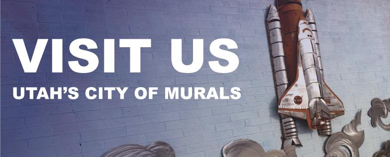 Visit us, Utahs City of Murals