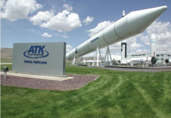 Rocket at ATK Rocket Garden