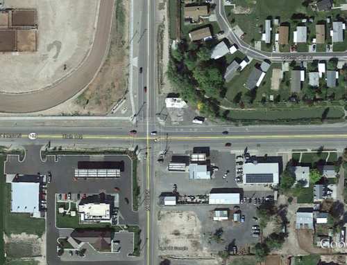 1000 West and Main St. Turn Lane